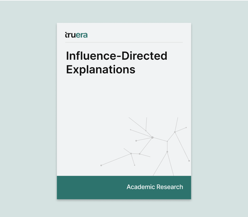Influence Directed Explanations 2018
