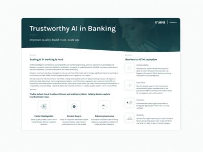 TruEra drives AI quality for banks