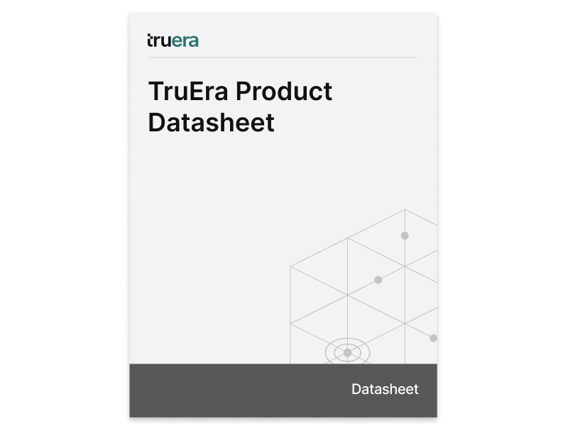 TruEra Product Datasheet
